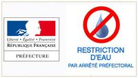 restriction eau